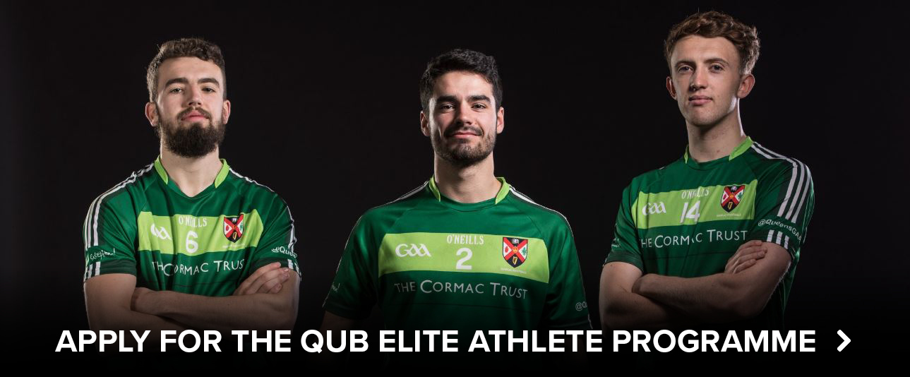Apply for the QUB Elite Athlete Programme